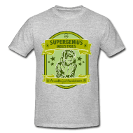 supergenius t-shirt