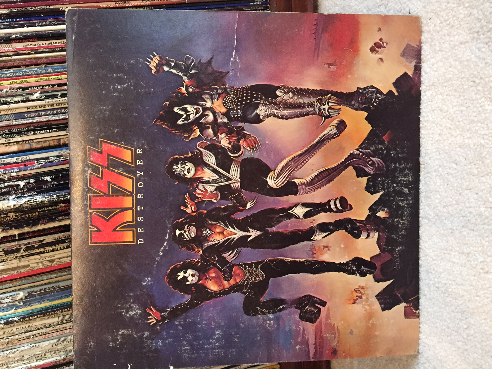 kiss destroyer album cover wwwimgkidcom the image